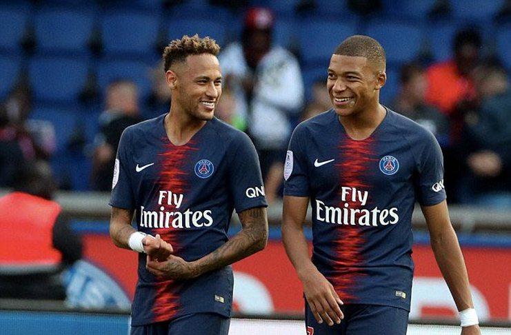 pemain Neymar-dan-Mbappe
