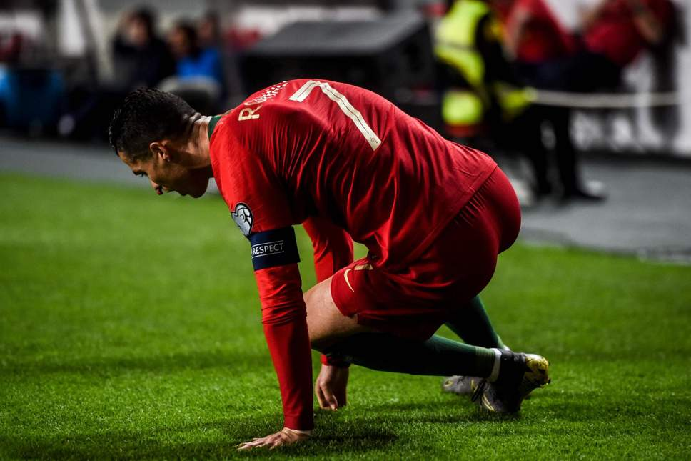 Sang Pamain Bintang Cristiano Ronaldo Telah Mengalami Cidera Saat Melewati Pertandingan Portugal Vs Serbia