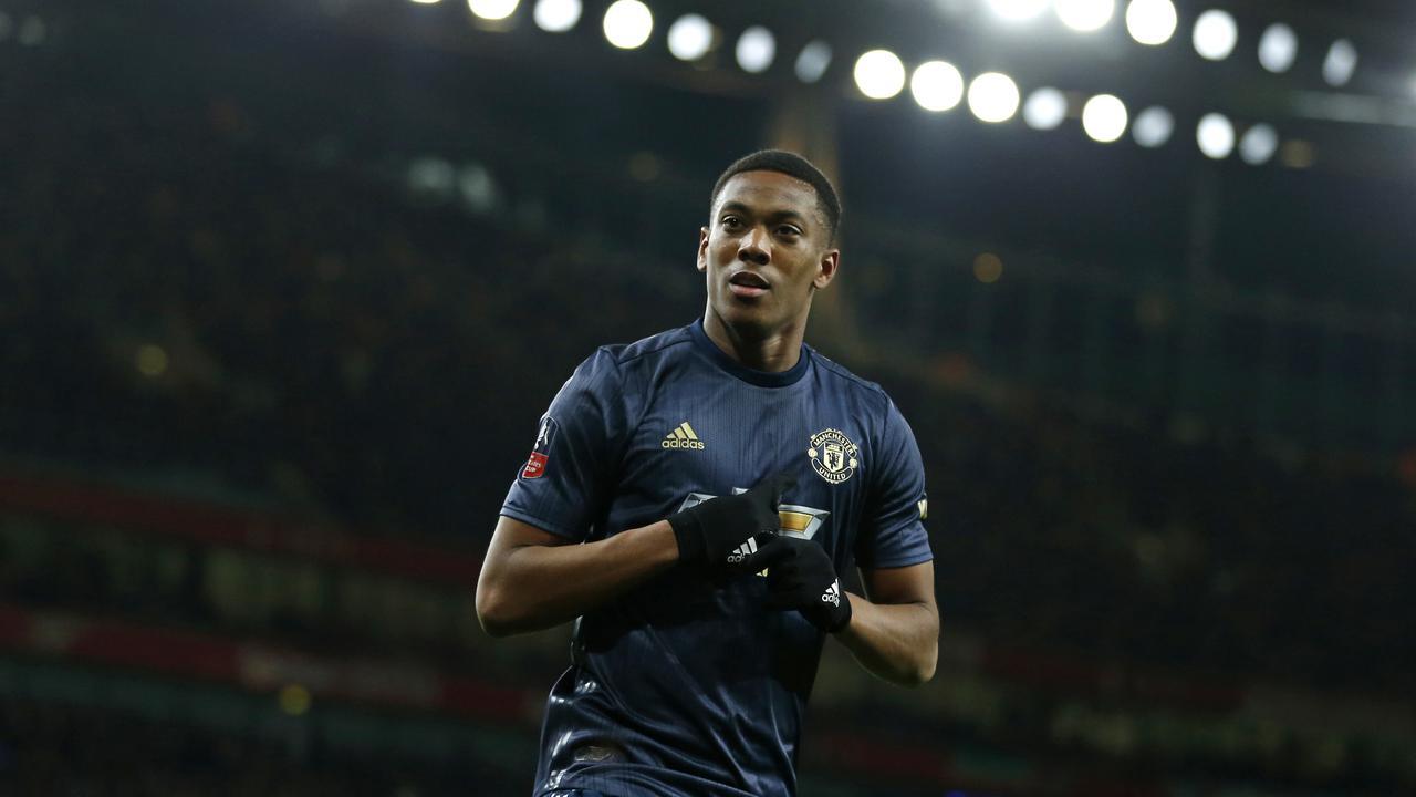 Martial Dipermalukan Didepan Seluruh Pemain Manchester United Oleh Solskjaer