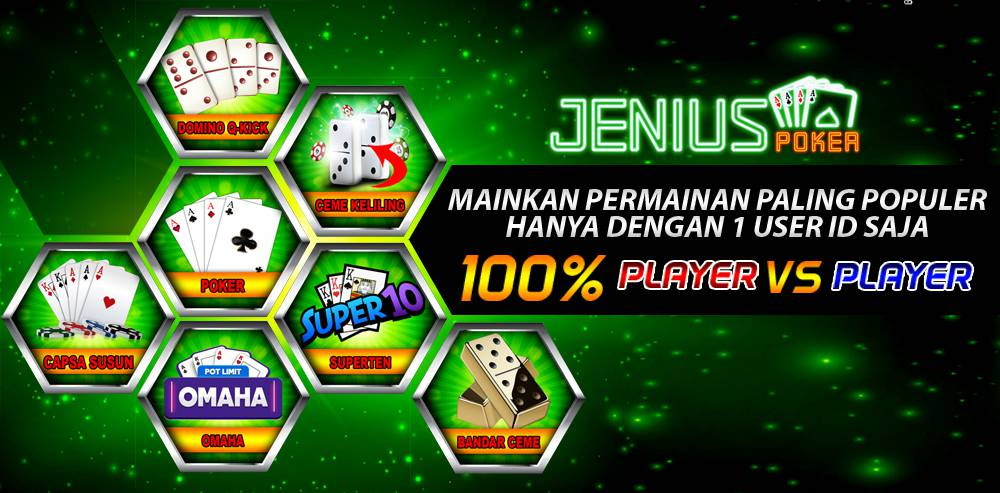 Macam-Macam Permainan Situs Poker Online Di JeniusPoker
