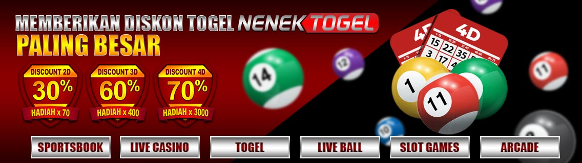Nenektogel Situs Togel Online Dengan Berbagai Keuntungan !